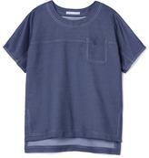 Jason Wu Preorder Silk Denim Tee Shirt