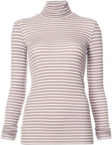 ATM Anthony Thomas Melillo Modal Mock Neck Jersey Top