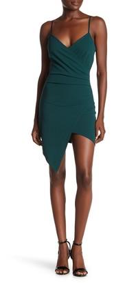 Love, Nickie Lew Asymmetrical Hem Surplus Dress