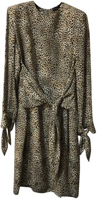 Jean Louis Scherrer Jean-louis Scherrer Beige Silk Dress for Women