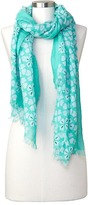 Gap Clover print scarf