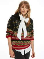 Scotch & Soda Jacquard Anorak Knit Pullover