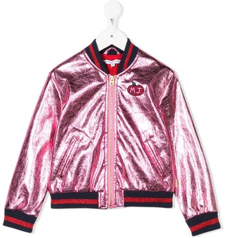 Little Marc Jacobs zipped bomber jacket