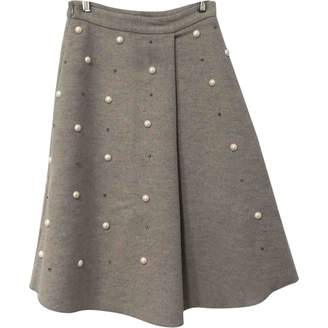 Mo&Co. \N Grey Wool Skirt for Women