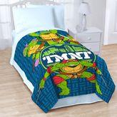 """Teenage Mutant Ninja Turtles """"Cityscape"""" Throw Blanket"""
