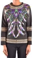 Just Cavalli Women's Multicolor Cotton Sweatshirt.