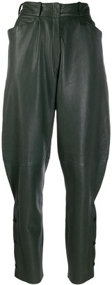 Versace Pre-Owned 1980's balloon-leg trousers