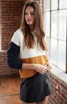 La Hearts Colorblock Sweater