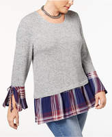 Style&Co. Style & Co Plus Size Layered-Look Top, Created for Macy's