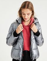 American Eagle Outfitters AE Metallic Boxy Puffer Jacket