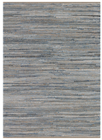 Nature's Elements Skyview Hand-Loomed Cotton and Jute Rug