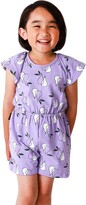 Thumbnail for your product : TINY TRIBE Kids' Pear Print Open Back Romper