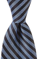 Murano Dot Stripe Narrow Tie