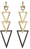 Paige Novick Triple Triangle Earrings