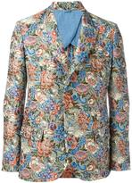 Ermanno Scervino floral pattern blazer - men - Polyester/Cotton/Acrylic/Linen/Flax - 50