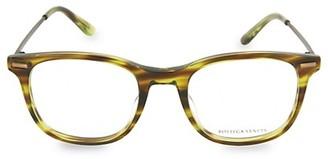 Bottega Veneta 50MM Square Optical Glasses