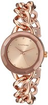 Rampage Women's 'Bracelet Band' Quartz Metal and Alloy Automatic Watch, Color:Rose Gold-Toned (Model: RP1032RG)
