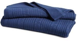 Lauren Ralph Lauren Price Break! Ultra Soft 100% Cotton Zig Zag Full/Queen Blanket Bedding