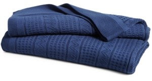 Lauren Ralph Lauren Price Break! Ultra Soft 100% Cotton Zig Zag Twin Blanket Bedding