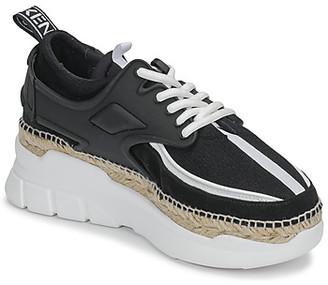 Kenzo K LASTIC LOW TOP SNEAKER women's Shoes (Trainers) in Black