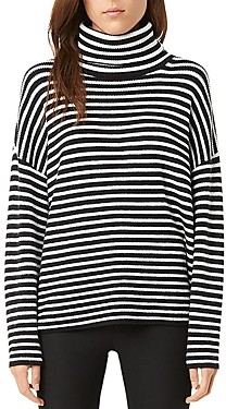 French Connection Micro Stripe Turtleneck Sweater (61% off) Comparable value $128