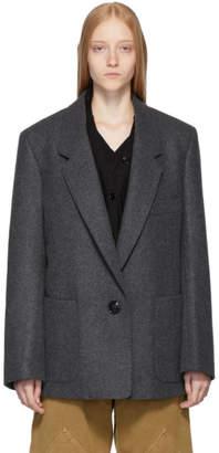Lemaire Grey Suit Jacket
