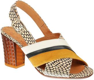 Chie Mihara Keara Cutout Block-Heel Sandals