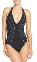 Seafolly Women's Beach Squad One-Piece Swimsuit