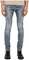 Pierre Balmain Faded Biker Jeans