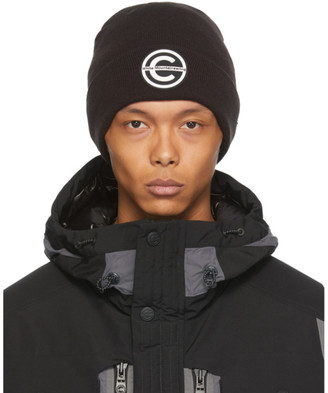 Colmar by White Mountaineering Black Logo Beanie