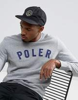Poler Unconstructed 6 Panel Nylon Cap With Camp Vibes Logo