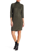 Bobeau Turtleneck Dress (Petite)