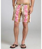 Vilebrequin natural stripe 'Okoa' swim trunks