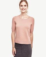 Ann Taylor Diamond Stitch Sweater