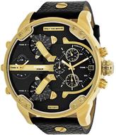 Diesel Mr. Daddy 2.0 DZ7371 Men's Gold-Tone Stainless Steel Chronograph Watch