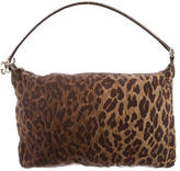 Dolce & Gabbana Leopard Print Nylon Shoulder Bag