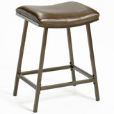 JCPenney Hillsdale House Plum Lake Adjustable Backless Saddle Barstool