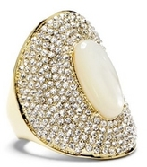 Vince Camuto Louise et Cie Pearlescent Center Pavé Ring