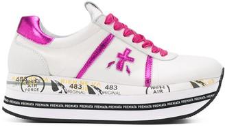 Premiata Beth platform sole sneakers