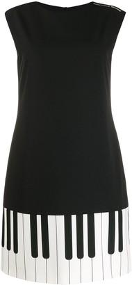 Boutique Moschino Piano print dress