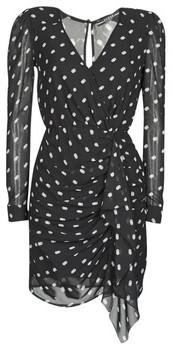 GUESS AMAL DRESS women's Dress in Black