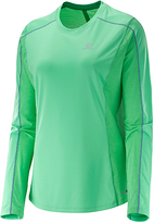 Salomon Jasmine Green Agile Long-Sleeve Tee- Women