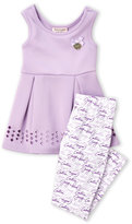 juicy couture (Girls 4-6x) 2-Piece Pleated Tank & Leggings Set
