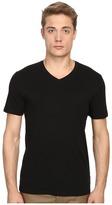 Vince Short Sleeve Pima Cotton V-Neck Shirt Men's Short Sleeve Pullover