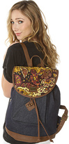 Obey The Dahlia Rucksack in Vintage Paisley