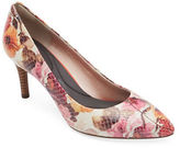 Rockport Total Motion Floral Leather Pumps