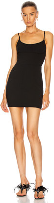 Alexander Wang Tailored Cami Dress in Black | FWRD