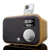 Vers 1.5R IPod Alarm Clock Sound System - Bamboo