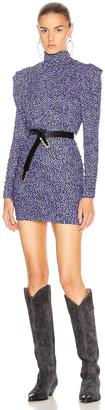 Isabel Marant Jisola Dress in Blue | FWRD