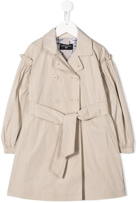 MonnaLisa Belted Trench Coat